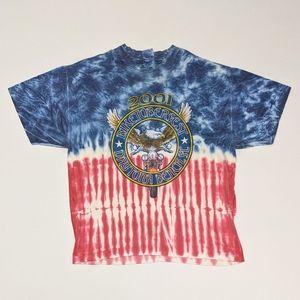 2001 Daytona Beach Biker Tie Dye XL T-shirt